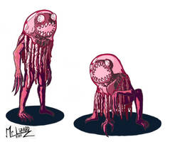 Jellyfish monsters