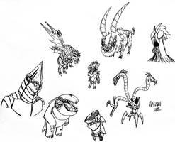 Random aliens #1