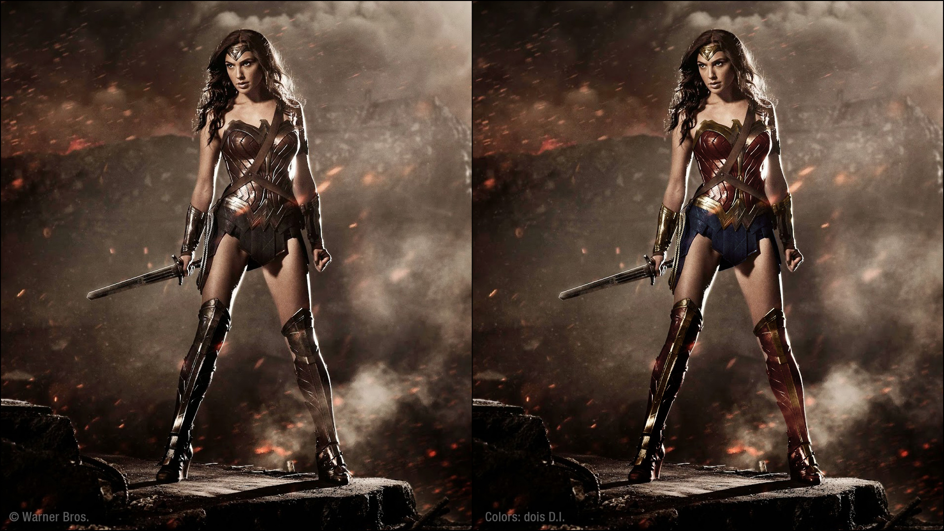 The Wonder Woman Costume Thread - Part 10 - Page 35 - The ... Gal Gadot Wonder Woman Costume Revealed