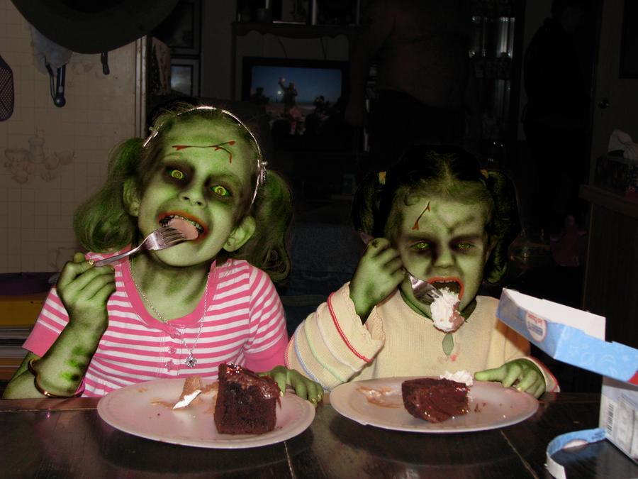 Zombie Birthday Cake By Akedos