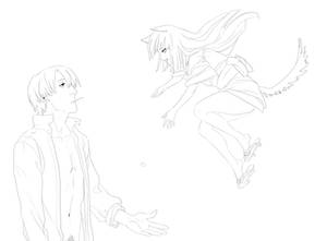 Mushishi - Ginko and girl