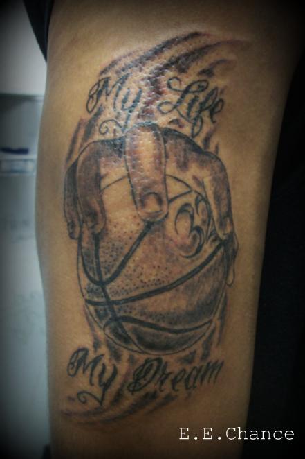 Original Basketball Piece