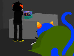 Failsafe Cue - Nepeta Panel by Myr-Lu