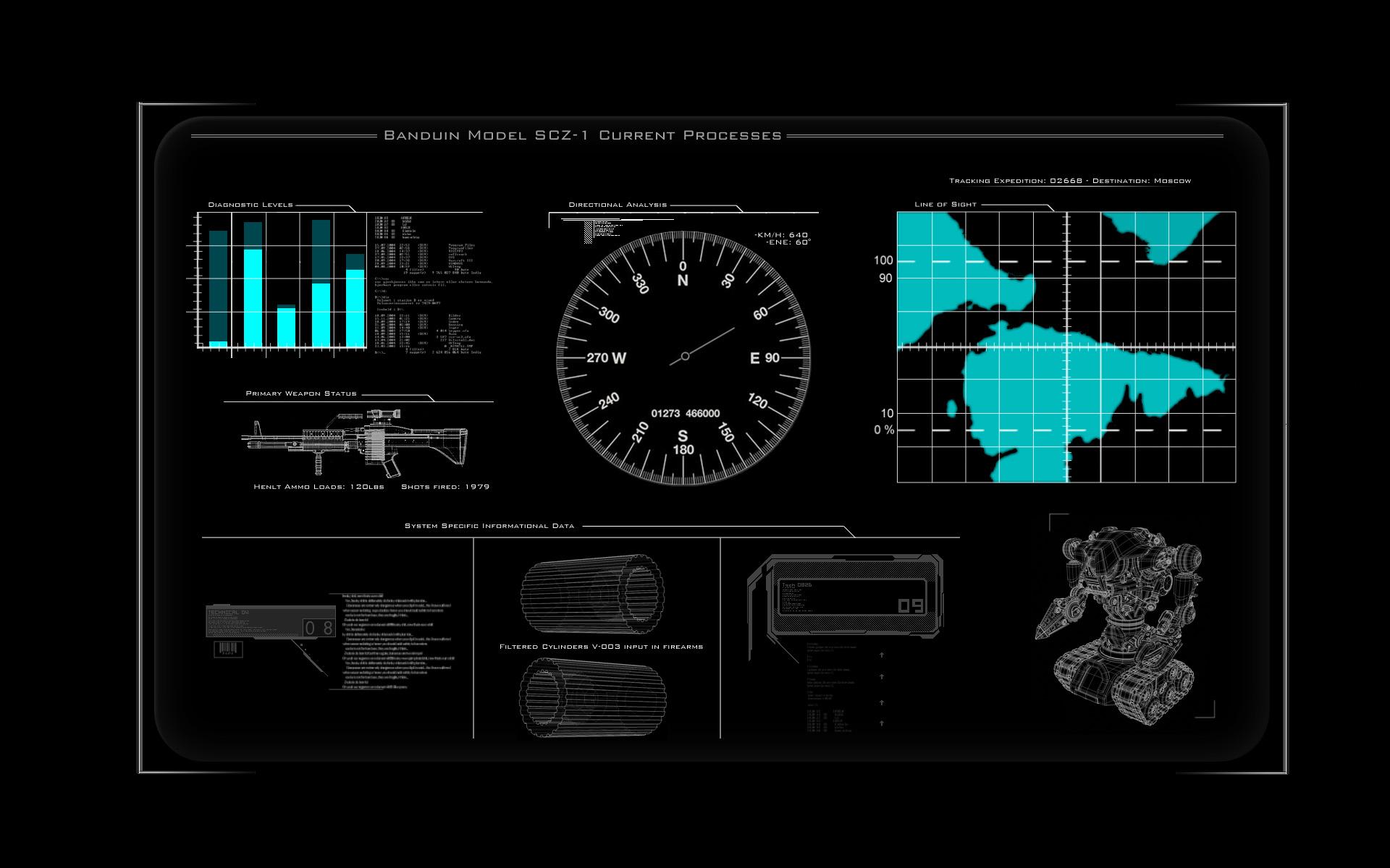 Tech Display Wallpaper By RawrYes