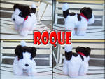 Roque the plushie dog