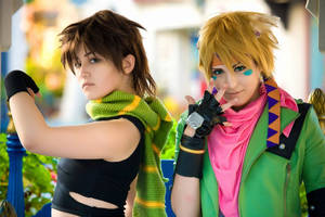 Battle Tendency by barcodecat