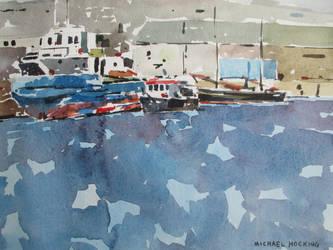 Penzance dock by MichaelHocking
