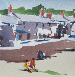 Mousehole the wharf. by MichaelHocking