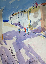 Back road west St Ives by MichaelHocking