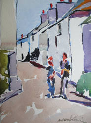 Back road east St Ives 2 by MichaelHocking