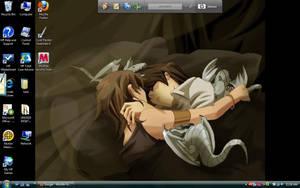 lol. my shiny desktop desu by Tozoku--Kitsune