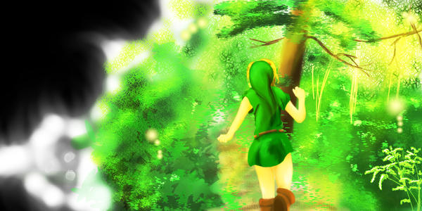 In to the Lost Woods by Alamino