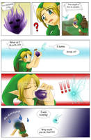 Mishaps of Link 6 - Poe Eating by Alamino