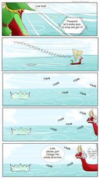 Misshaps of Link 7 Sailing
