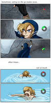 Misshaps of Link 9 Eating on the Go