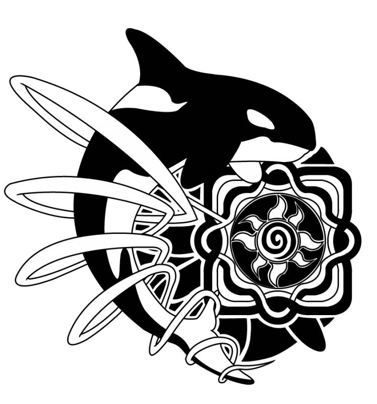 Orca Tattoo Design by ~diogenes on deviantART