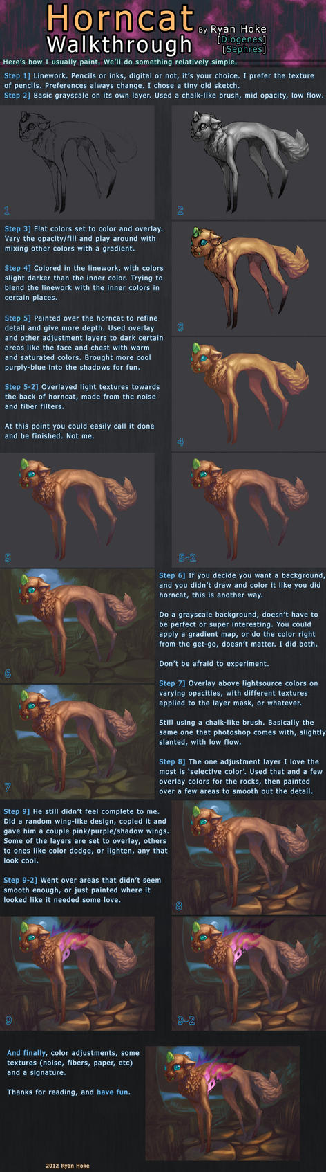 Horncat Walkthrough by diogenes