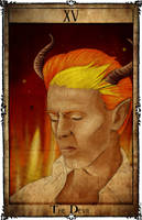 Bowie Tarot Collection - XV - The Devil by Triever