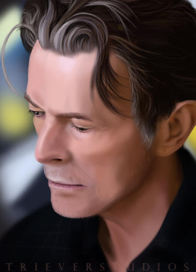 David Bowie by Triever