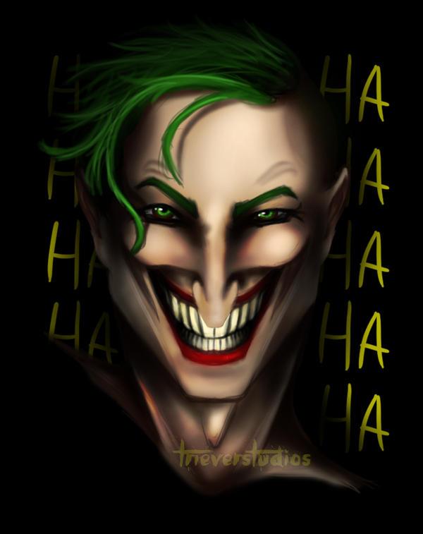 Joker Speedpaint + Timelapse! by Triever