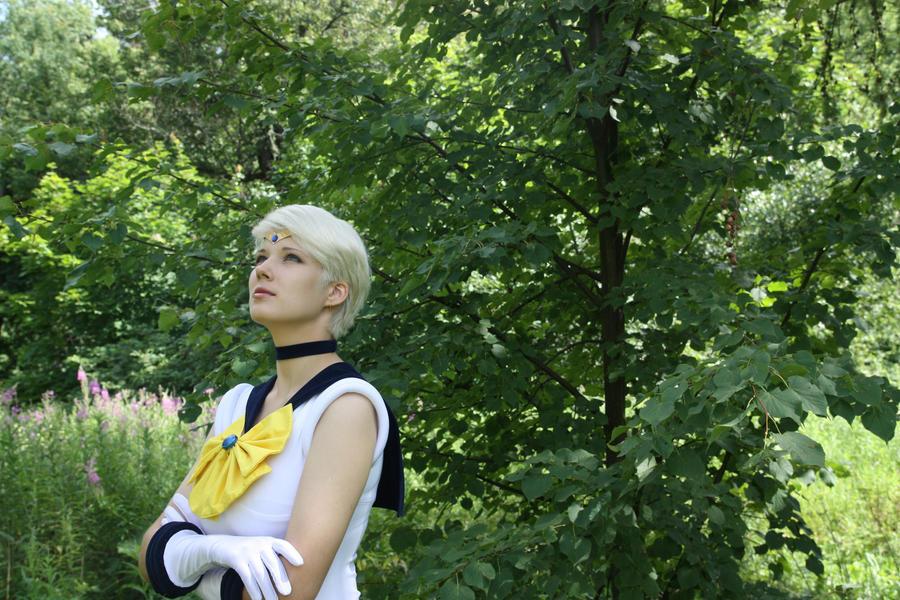 My Cosplay Sailor Uranus. by LadaSever