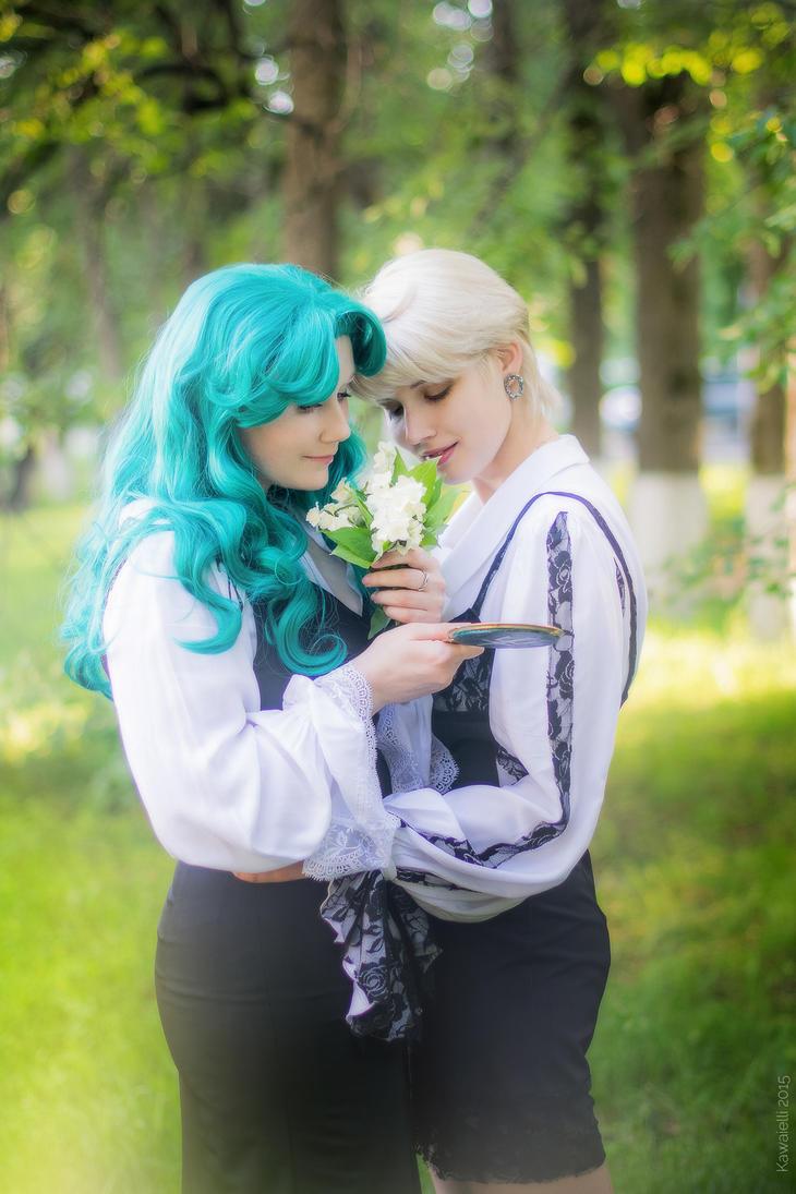 Haruka and Michiru by LadaSever