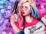 Harley Quinn  (Suicide Squad) +SpeedPaint