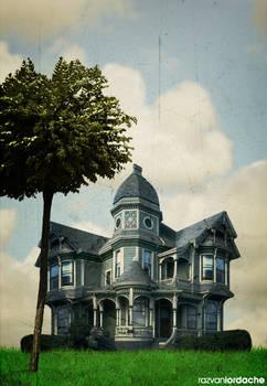 Sunny haunted house