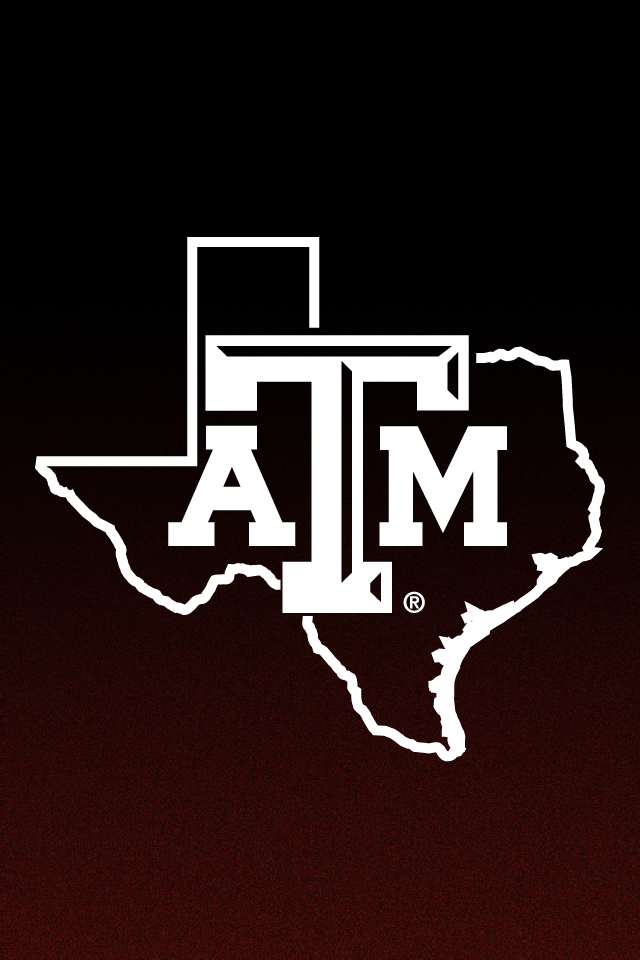 texas aggie fade to black helmet iphone background by
