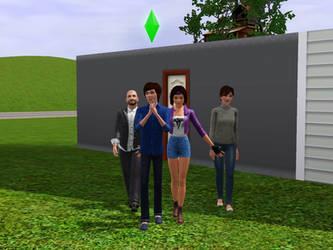 Venturian Sims: Acachalla Family by LAngel2