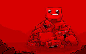 Super Meat Boy 2.5 Wallpaper by andyofcomixinc