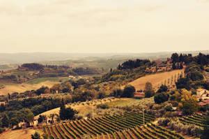 Tuscany by Holunder