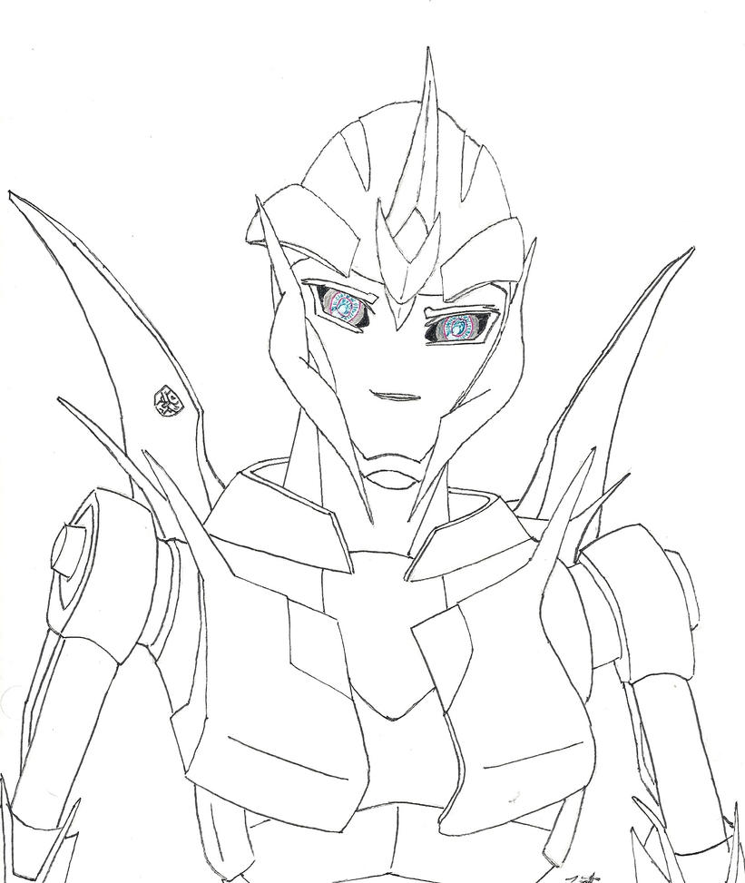 arcee transformers prime coloring pages - photo#12