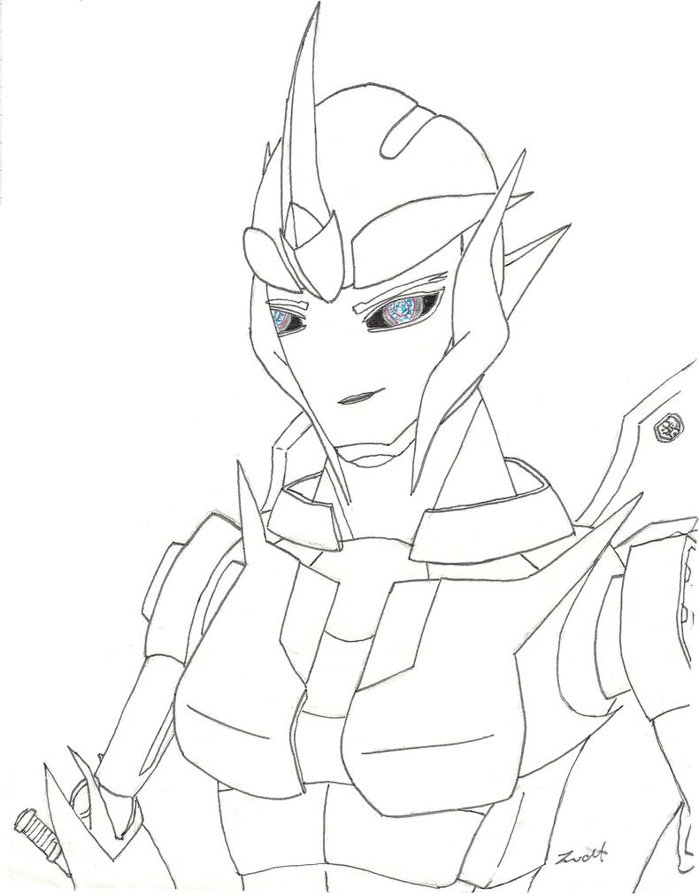 arcee transformers prime coloring pages - photo#11