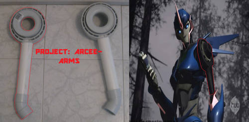 Project: Arcee WIP- Arms