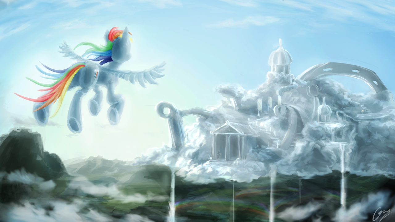 Cloudsdale by IFoldBooks