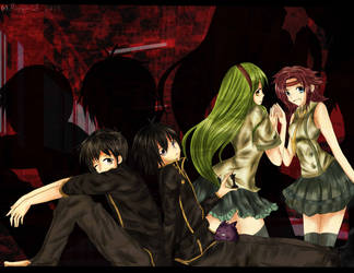 Code Geass Fan Art by XMeggie-ChanX