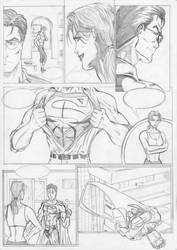 Supes and Lois test page by x-raider