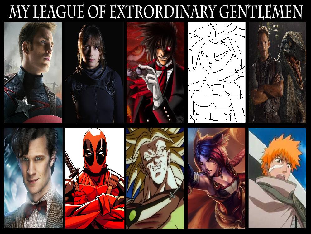 My League Of Extraordinary Gentlemen Meme By Wolfblade111 On