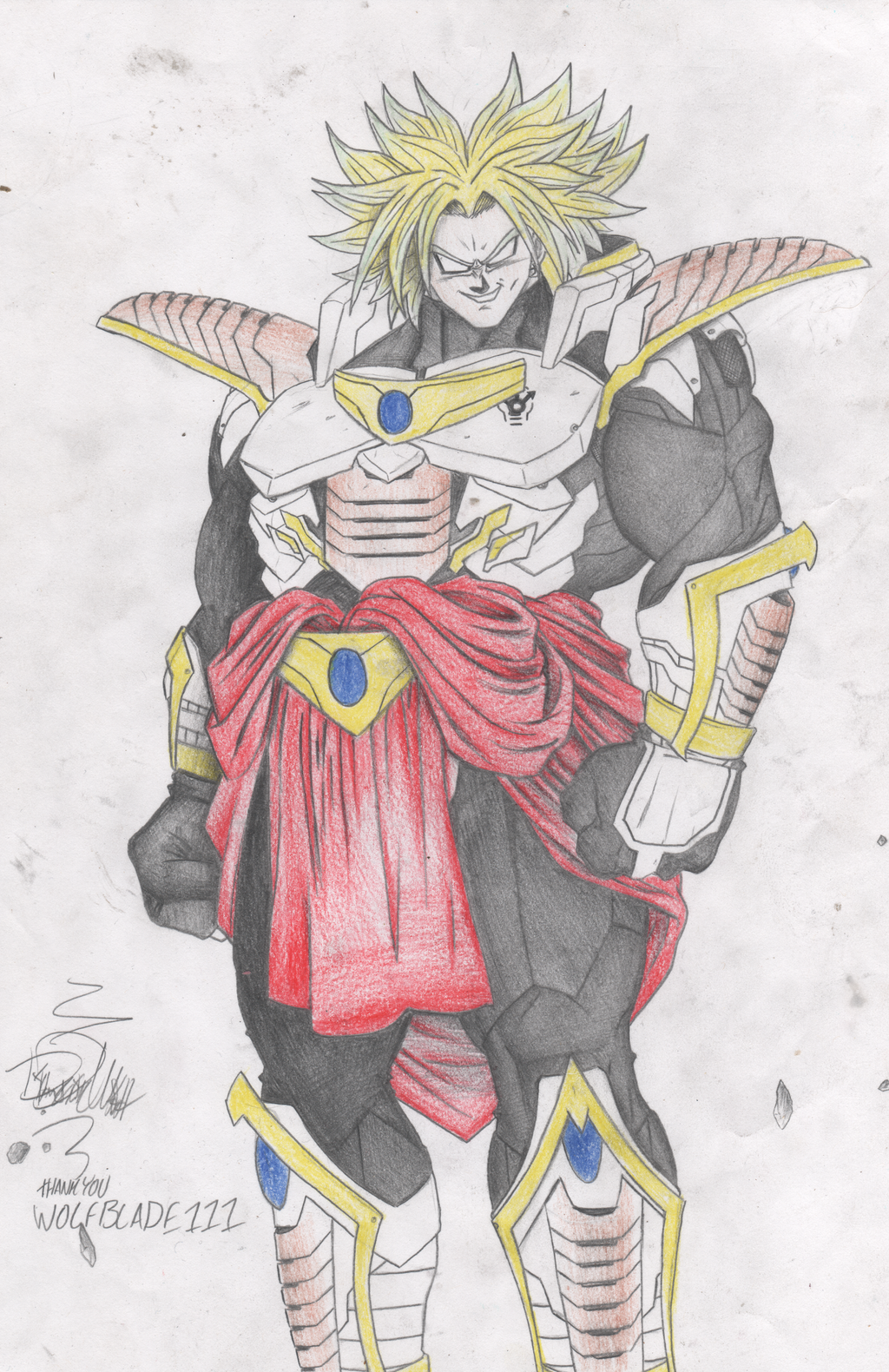 Broly (Requested) by WOLFBLADE111 on DeviantArt - photo#25
