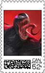 Venom Postage Stamp