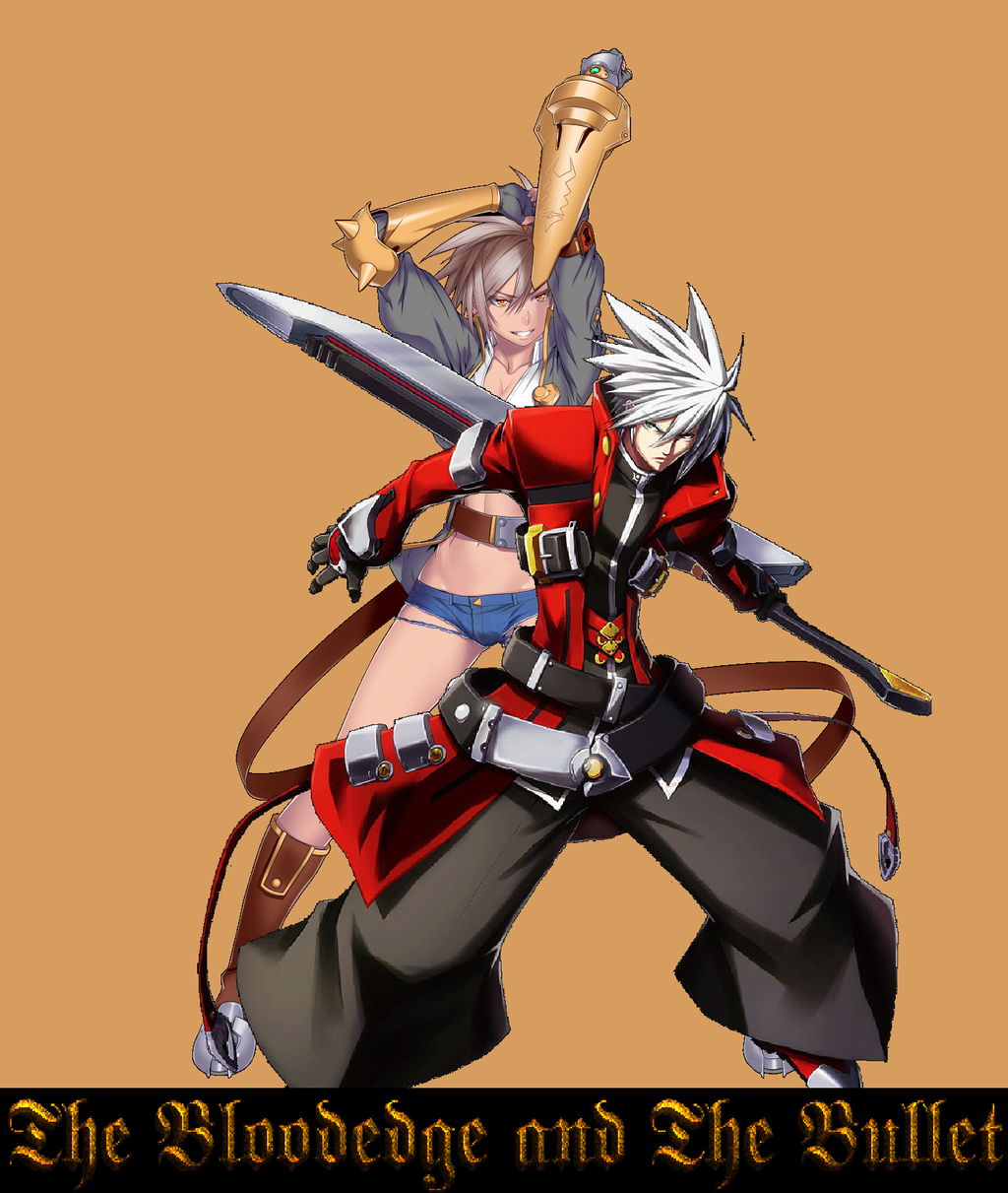 ragna and bullet by wolfblade111 on deviantart