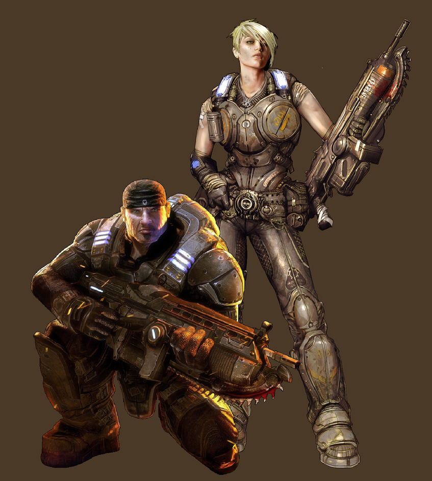 marcus fenix and anya relationship