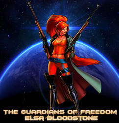 TGoF Poster 334: Elsa Bloodstone by WOLFBLADE111