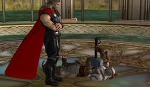 Kratos is Unworthy