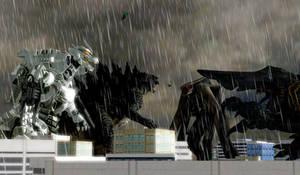 Heroes vs Kaiju