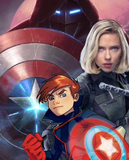Top Five Avengers Assemble Captain America And Black Widow