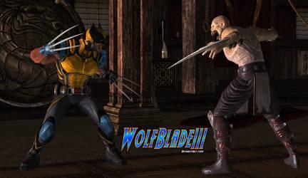 Wolverine vs Baraka by WOLFBLADE111