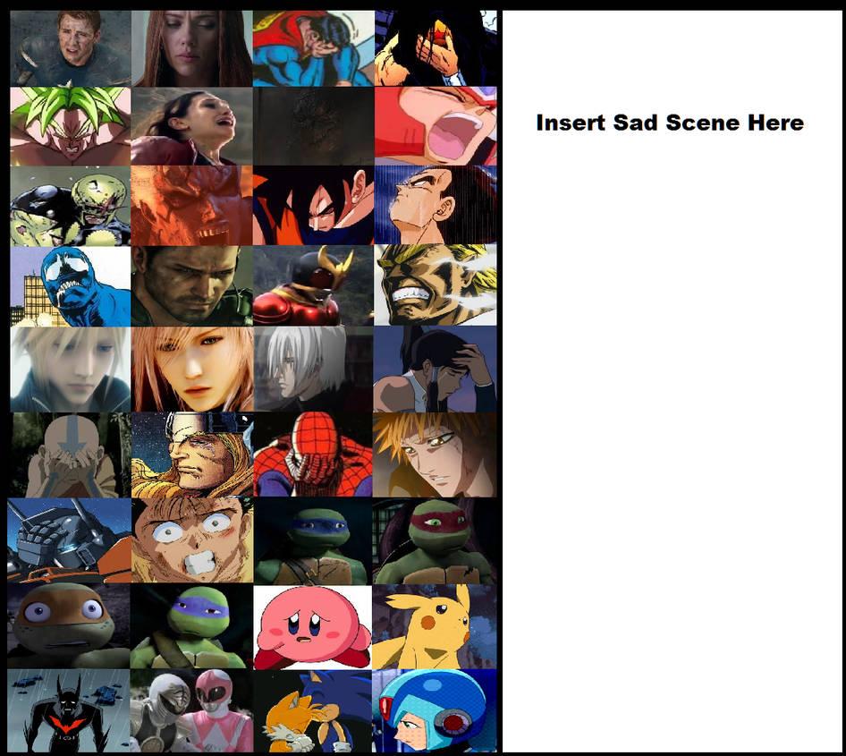 Multiversal Anguish Meme Template by WOLFBLADE111 on DeviantArt