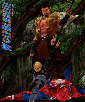 Predator vs Kraven vs Spiderman
